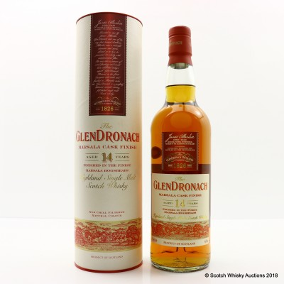 GlenDronach 14 Year Old Marsala Cask Finish
