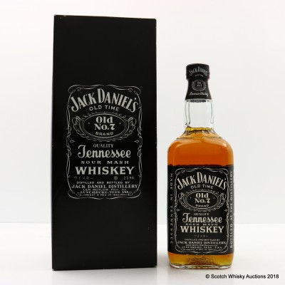 Jack Daniels's Old No.7 Japanese Bottling 75cl