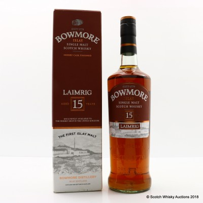 Bowmore 15 Year Old Laimrig Batch #4