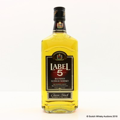 Label 5 Classic Black Blend