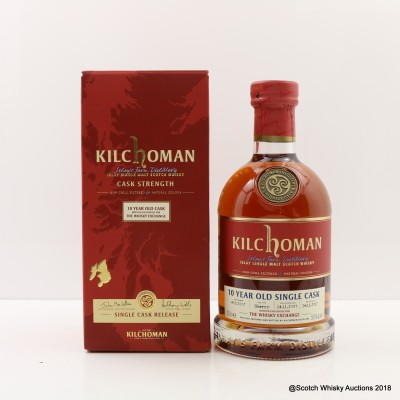 Kilchoman 2007 10 Year Old Single Cask For The Whisky Exchange
