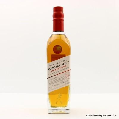 Johnnie Walker Blenders' Batch Red Rye Finish