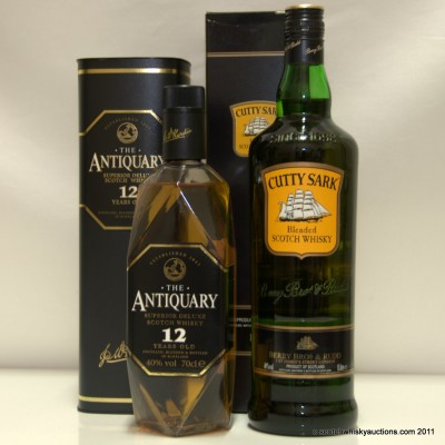 Antiquary 10 & Cutty Sark