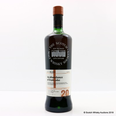 SMWS 30.100 Glenrothes 1997 20 Year Old