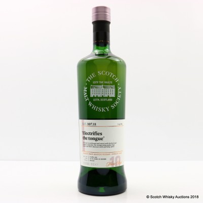 SMWS 107.11 Glenallachie 2007 10 Year Old