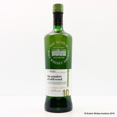 SMWS 10.143 Bunnahabhain 2007 10 Year Old