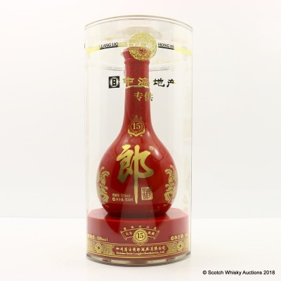 Hong Hua Lang Liquor 15 Year Old 50cl