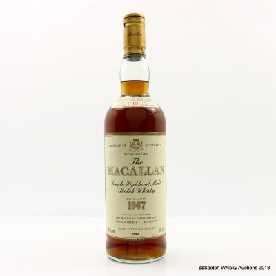 Macallan 18 Year Old 1967 75cl