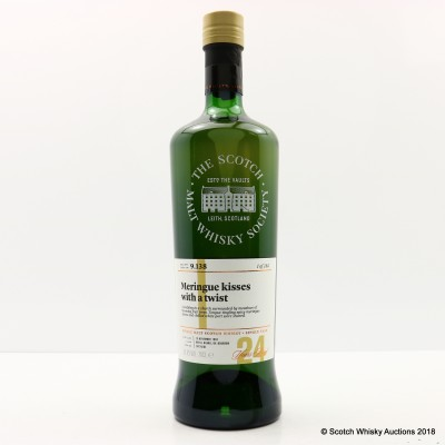 SMWS 9.138 Glen Grant 1992 24 Year Old