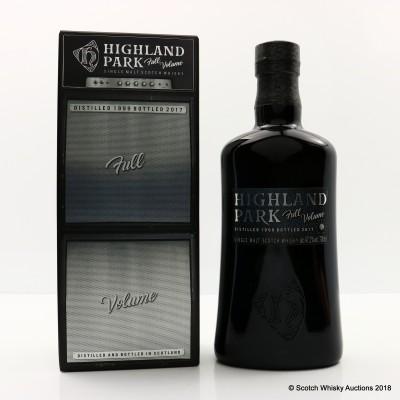 Highland Park 1999 Full Volume