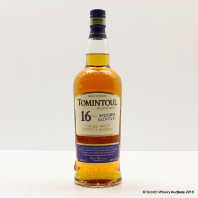 Tomintoul 16 Year Old 1L