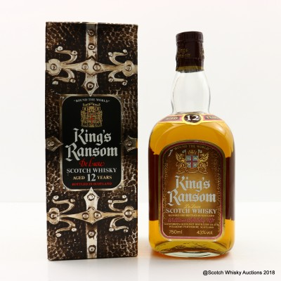 King's Ransom 12 Year Old De Luxe 75cl