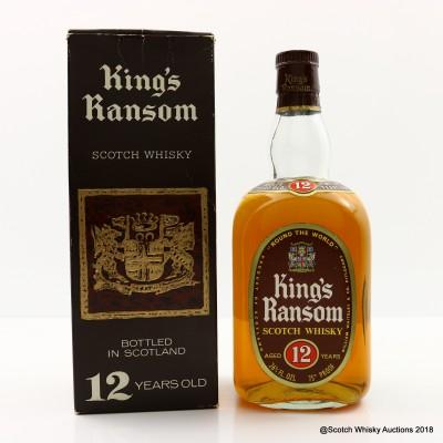 King's Ransom 12 Year Old 26 2/3 Fl Oz