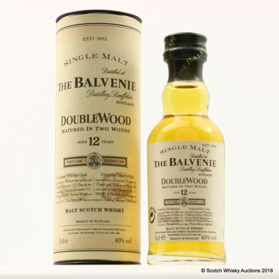 Balvenie 12 Year Old DoubleWood Mini 5cl