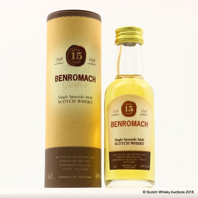 Benromach 15 Year Old Mini 5cl