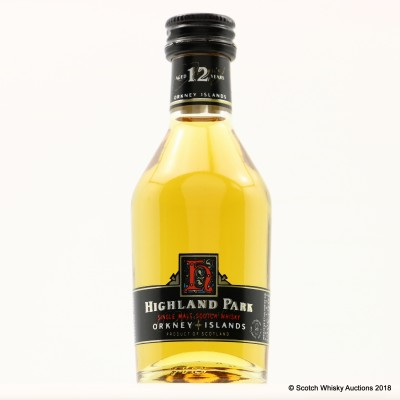 Highland Park 12 Year Old Dumpy Bottle Mini 5cl