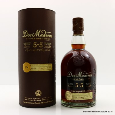 Dos Maderas 5 + 5 10 Year Old Rum