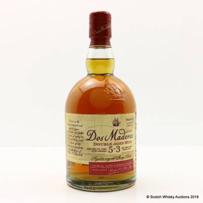 Dos Maderas 5 + 3 8 Year Old Rum