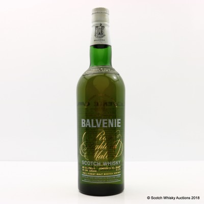 Balvenie 6 Year Old Rare Highland Malt Specially For Ladies 75cl