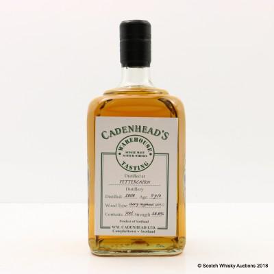 Fettercairn 2008 9 Year Old Cadenhead's Warehouse Tasting