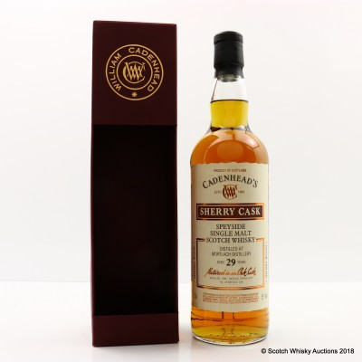 Mortlach 1988 29 Year Old Cadenhead's