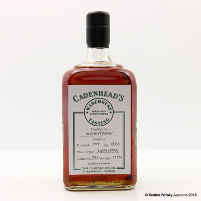 Auchentoshan 1999 18 Year Old Cadenhead's Warehouse Tasting