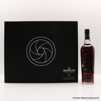 """Macallan Masters Of Photography Annie Leibovitz """"The Gallery"""" Label"""