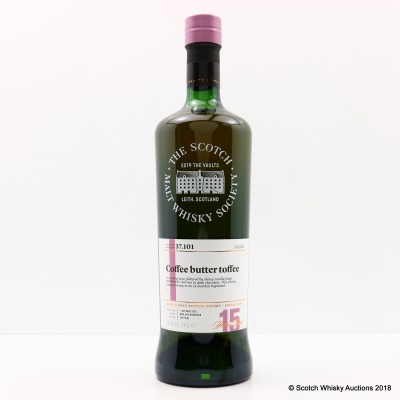 SMWS 37.101 Cragganmore 2002 15 Year Old