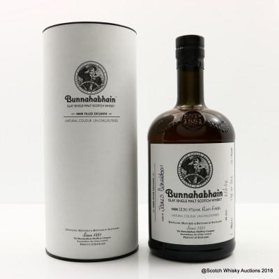 Bunnahabhain 12 Year Old Hand Filled Moine Rum Finish