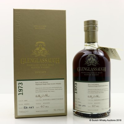 Glenglassaugh 1973 40 Year Old Rare Cask Release