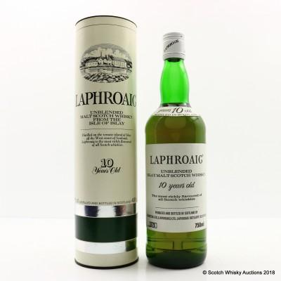 Laphroaig 10 Year Old Pre Royal Warrant 75cl