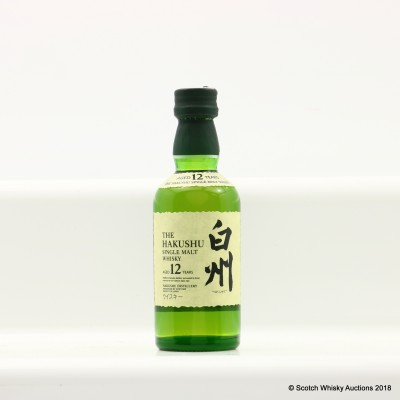Hakushu 12 Year Old Mini 5cl