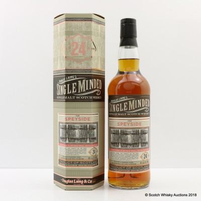 Speyside 24 Year Old Single Minded