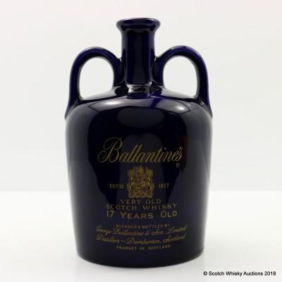 Ballantine's 17 Year Old Ceramic Flagon