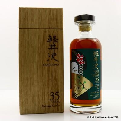 Karuizawa 35 Year Old Emerald Geisha Cask #8518