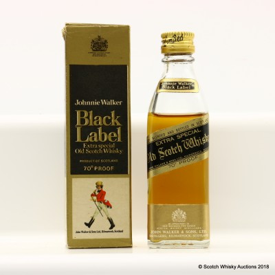 Johnnie Walker Black Label Extra Special Mini