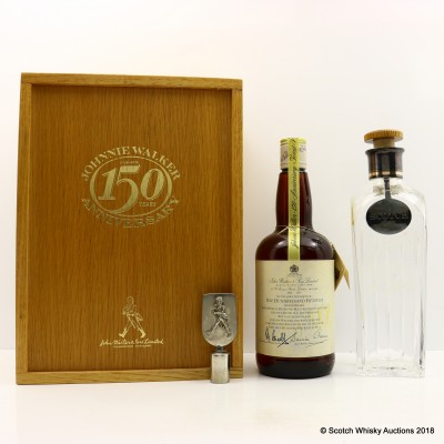 Johnnie Walker 1985 150th Anniversary Blend 75cl With Decanter