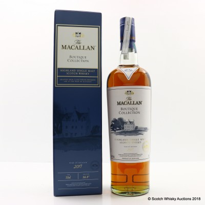 Macallan Boutique Collection 2017 Taiwan Exclusive
