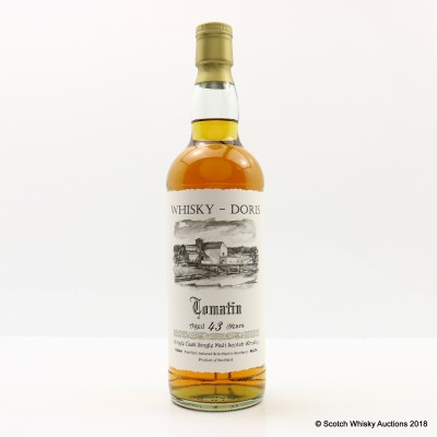 Tomatin 1965 43 Year Old Whisky Doris