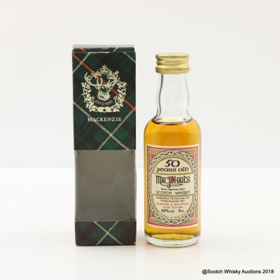 MacPhails 1937 50 Year Old Mini 5cl