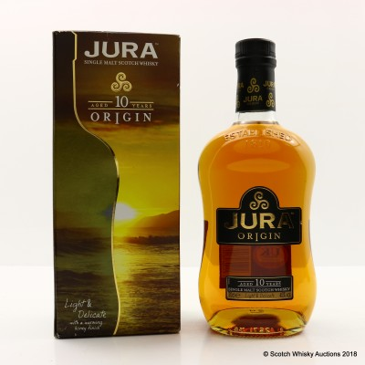 Jura 10 Year Old Origin