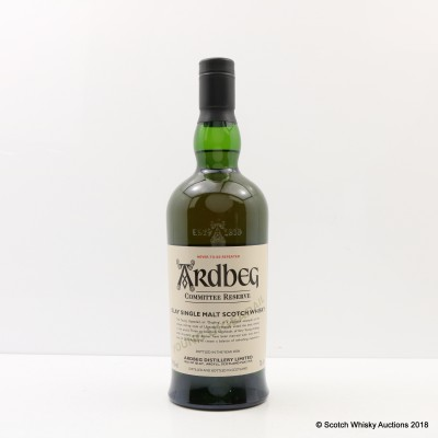 "Ardbeg Young Uigeadail ""The Oogling"" Committee Reserve"