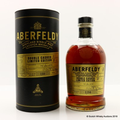 Aberfeldy 20 Year Old Double Casked Limited Edition 75cl