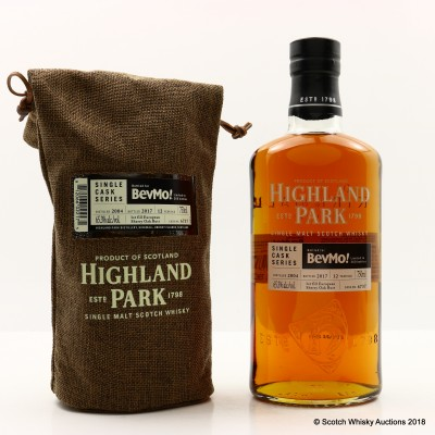 Highland Park 2004 12 Year Old Single Cask #6737 For BevMo! 75cl
