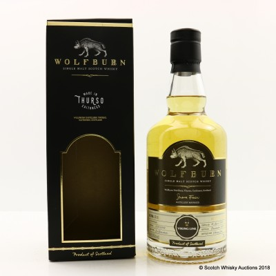 Wolfburn 2014 Single Cask For Viking Line
