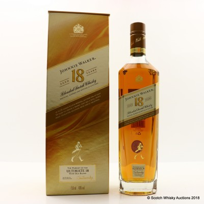 Johnnie Walker 18 Year Old Gold Label 75cl