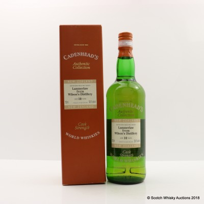 Lammerlaw 10 Year Old Cadenhead's 75cl