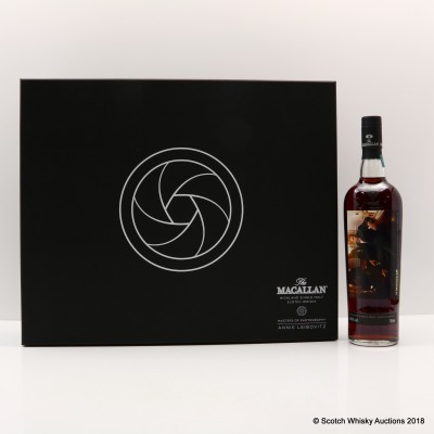 "Macallan Masters Of Photography Annie Leibovitz ""The Bar"" Label"