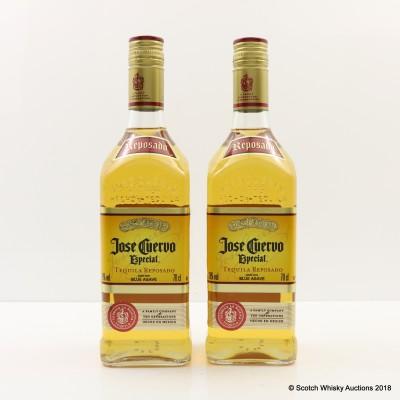 Jose Cuervo Tequila Gold 2 x 70cl