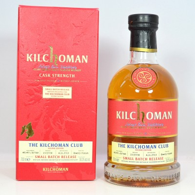 Kilchoman Small Batch Release For The Kilchoman Club 2nd Edition
